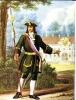 Парадная форма обер-офицера гвардейских полков 1720-1732