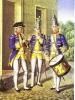 Гобоист,флейщик и барабанщик Мушкетерского полка 1756-1761