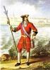 Офицер пехотного полка 1700-1732