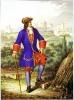 Офицер лейб-гвардии Семеновского полка 1700-1720