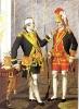 Офицер и сержант Лейб-кампании 1742-1762