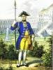 Офицер Мушкетерского полка принца Вильгельма 1762