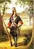 Гренадерский обер-офицер Преображенского полка 1700-1732