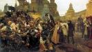 Утро стрелецкой казни, 1881  Третьяковская галерея, Москва