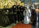 Посещение царевной женского монастыря, 1912