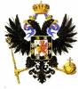 Герб Романовых на груди государственного орла
