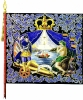 Знамя Преображенского полка 1700
