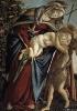 Мадонна с младенцем и Иоанном Крестителем, 1495, Галерея Питти