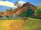 Таитянский пейзаж  1891, Музей д'Орсе, Париж