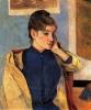 Портрет Мадлен Бернар  1888, Музей искусств, Гренобль