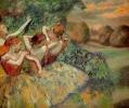 Четыре танцовщицы  1884