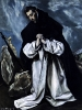 Молитва святого Доминика  1585-1590, Частное собрание