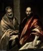 Апостолы Петр и Павел, 1592  Эрмитаж, Санкт-Петербург