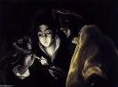 Мальчик, раздувающий лучину, 1590  Национальная галерея, Эдинбург