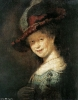 Юная Саския  1633