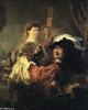 Веселое общество, 1635  Картинная галерея, Дрезден