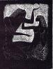 Иллюстарция к (Песнь песней) Саломона. 1996. Автоцинкография
